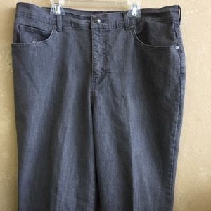 Gloria Vanderbilt grey jeans size 16 short